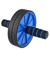roda abdominal e lombar com tapete de apoio yangfit