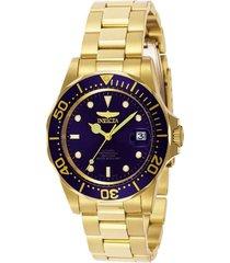 reloj invicta 8930 dorado acero inoxidable