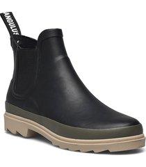 rain boots - low with elastic regnstövlar skor svart angulus