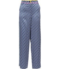 tory burch stripes trousers
