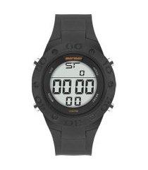 relógio digital mormaii masculino - mo902ab8l preto