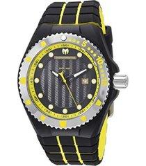 reloj technomarine negro modelo tm-1152hi para hombre, colección cruise