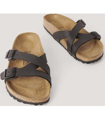 birkenstock slip-in-sandal - black