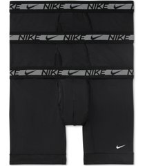 nike men's 3-pack flex micro boxer briefs
