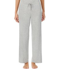 women's lauren ralph lauren pajama pants, size x-large - grey