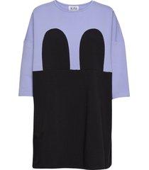 r/h studio x boozt mickey square dress kort klänning lila r/h studio