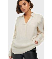 selected femme slfcallie ls top b skjortor