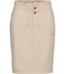 skirts woven knälång kjol brun esprit casual