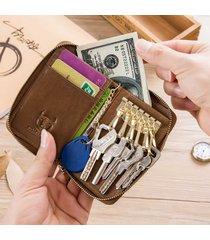 portafogli da donna vintage vera pelle portachiavi porta chiavi borsa