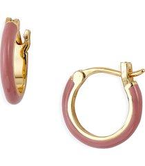 women's gorjana amalfi huggie hoop earrings