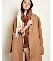 bufanda marrón portsaid bitono vertical