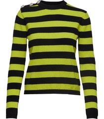 cashmere knit pullover gebreide trui multi/patroon ganni