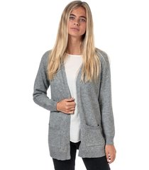 womens lesly open cardigan