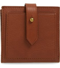 women's madewell the post billfold wallet -