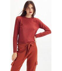 sweater rojo portsaid tina