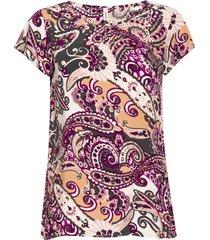 sc-azra t-shirts & tops short-sleeved rosa soyaconcept
