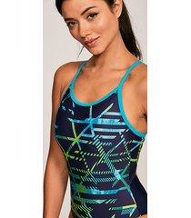 equation sprintback one-piece swimsuit