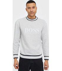 boss heritage sweatshirt tröjor grey