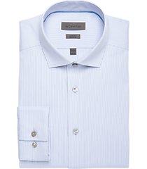 calvin klein ice blue slim fit dress shirt