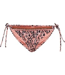 lady leopard tanga bikinitrosa rosa hunkemöller