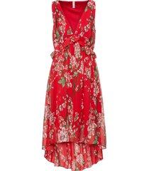 abito asimmetrico (rosso) - bodyflirt boutique