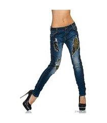jeans indigo-blauw