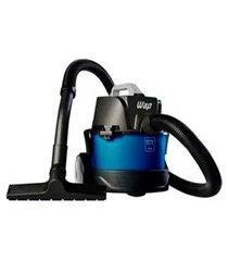 aspirador de pó e água compacto wap gtw bagless com capacidade de 6,0 litros - gtwbagless