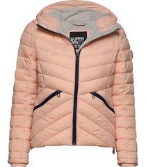 ls essentials helio padded jacket gevoerd jack roze superdry