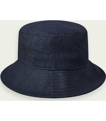 scotch & soda branded denim bucket hat