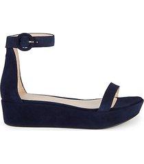 capri suede flatform sandals