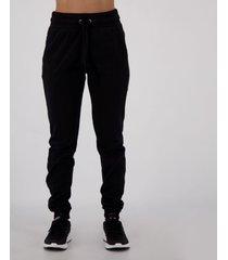 calça de moletom lupo soft feminina preta