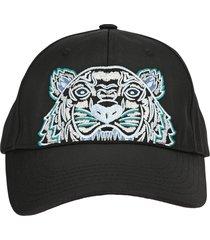 kenzo tiger canvas cap