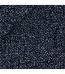 pantaloni da uomo su misura, lanificio ermenegildo zegna, lana lino seta blu spigati, primavera estate | lanieri