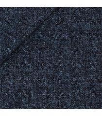 abito da uomo su misura, lanificio ermenegildo zegna, lana lino seta blu spigato, primavera estate | lanieri
