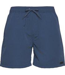 quinn swim shorts badshorts blå les deux