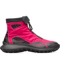 camper lab crclr, sneaker donna, rosa/nero, misura 41 (eu), k400380-002