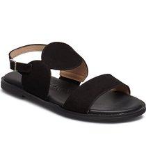 a-7911 shoes summer shoes flat sandals svart wonders