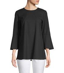sidra bell-sleeve blouse
