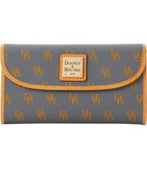 dooney & bourke blakely signature continental wallet