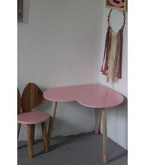 krzesełko mysz + stolik serce