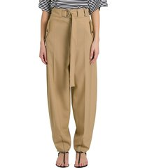 marni belted carrot pants