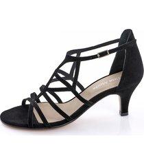sandaletter alba moda svart