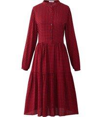 noella noella lipe dress red/black checks