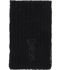 mm6 maison margiela wool scarf