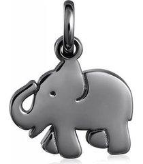 dije sweet dolls elefante de plata dark silver