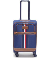 "tommy hilfiger logan 21"" softside carry-on spinner"