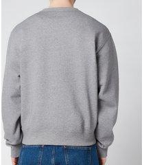 kenzo men's sport classic sweatshirt - dove grey - l