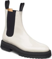 goal digger chelsea boot shoes chelsea boots creme anny nord