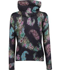 blugirl floral print sweater