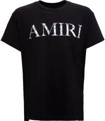 amiri jersey t-shirt with bandina logo